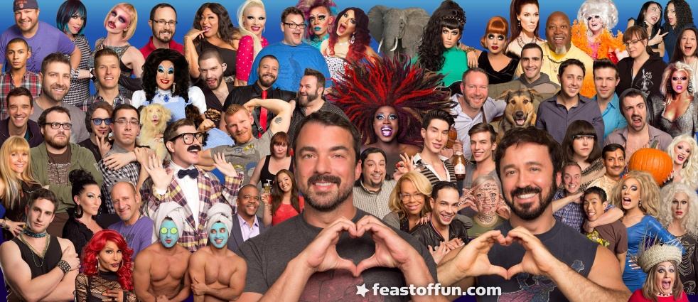 Feast of Fun: Gay Talk Show - Cover Image