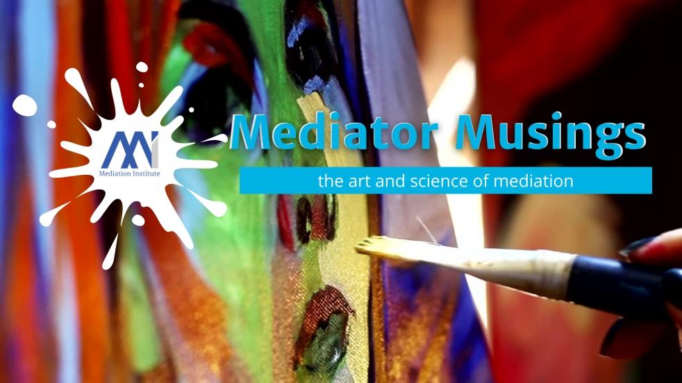Mediator Musings - Cover Image