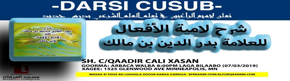 Laamiyatul Afcaal - Sh. C/Qaadir - show cover