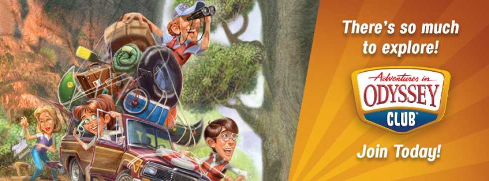 Official Adventures in Odyssey Podcast - Cover Image