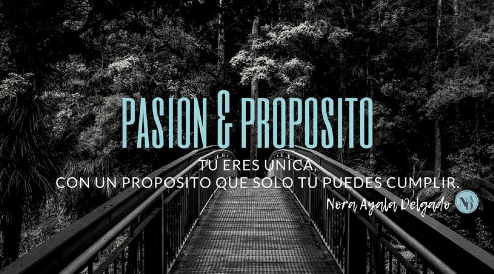 Pasion & Proposito - show cover
