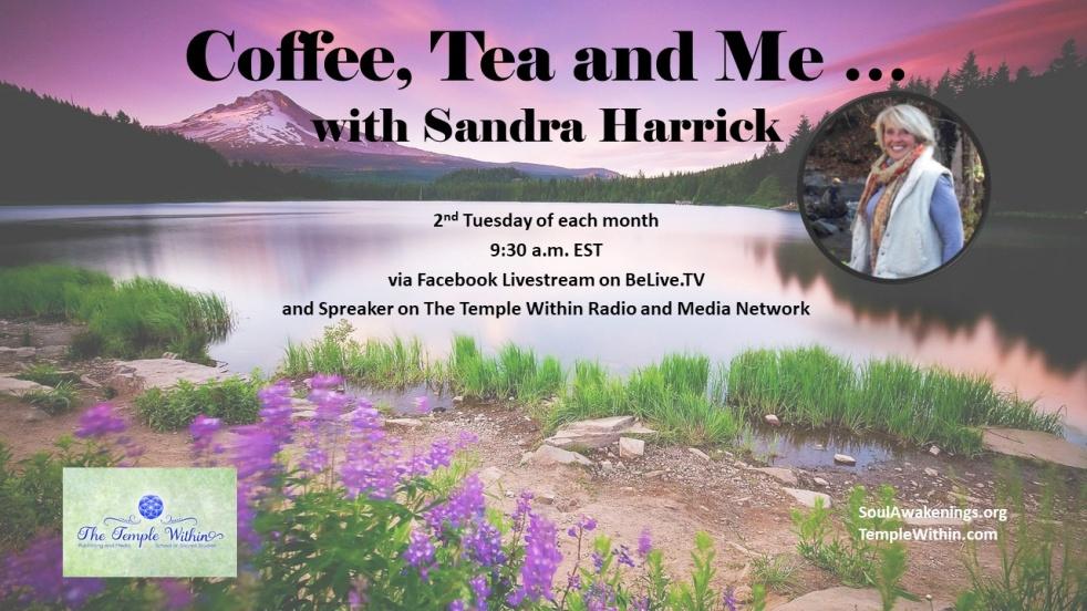 Coffee, Tea & Me with Sandra Harrick - show cover