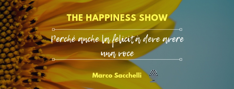 The Happiness Show con Marco Sacchelli - show cover