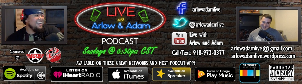 Live with Arlow and Adam - Cover Image