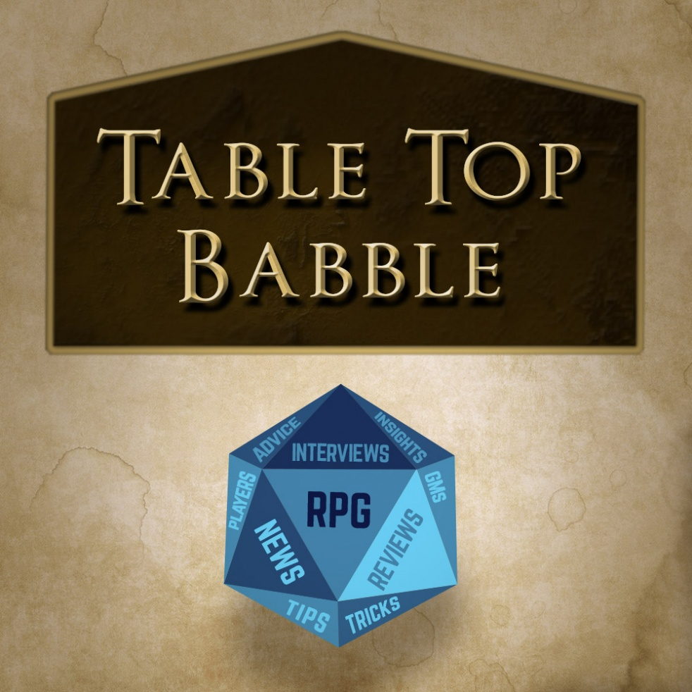 Table Top Babble - show cover