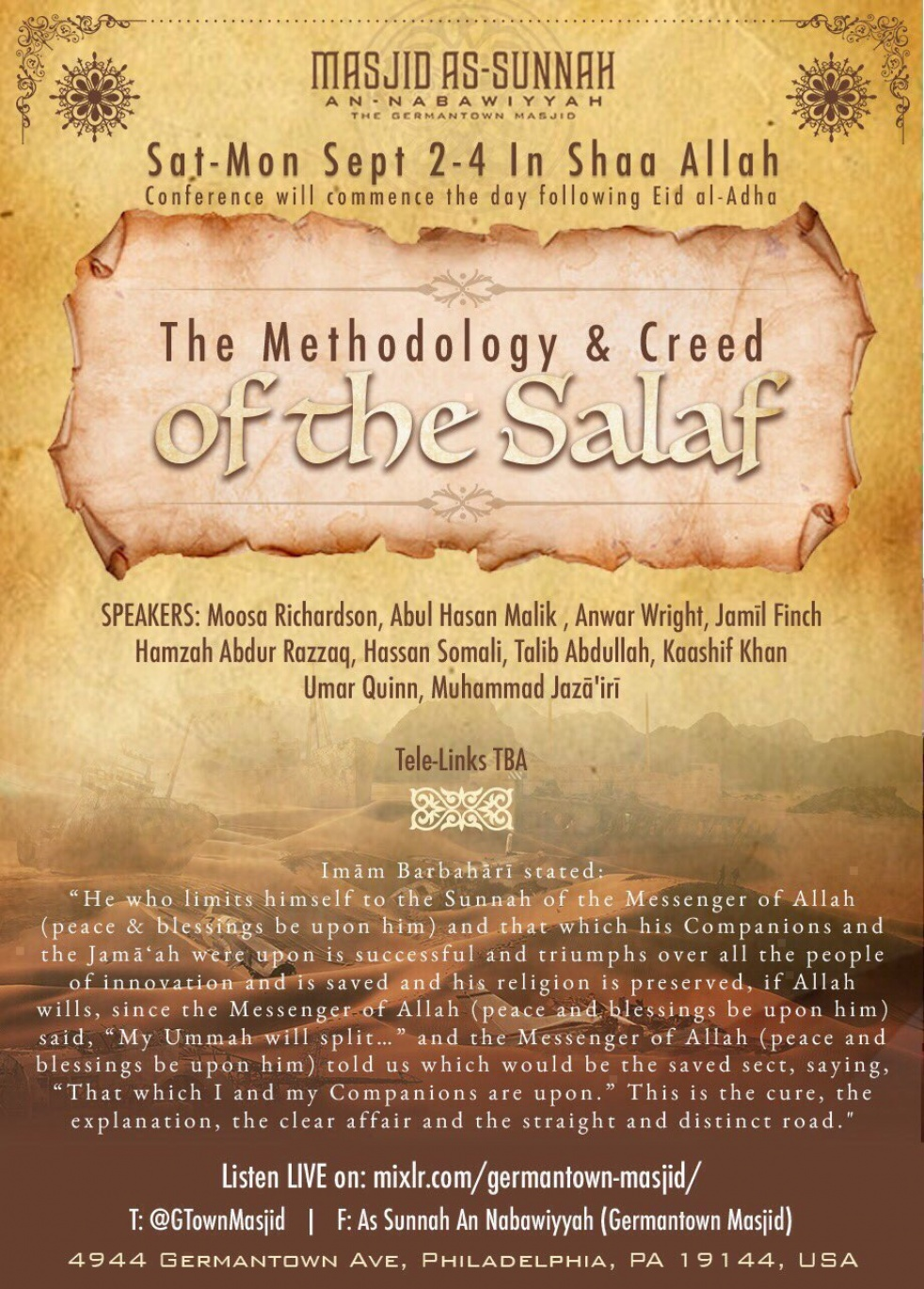 Methodology & Creed of the Salaf - show cover