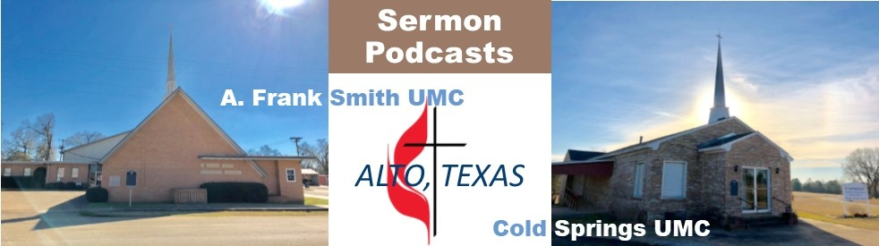 A. Frank Smith/Cold Springs UMC Sermons - Cover Image