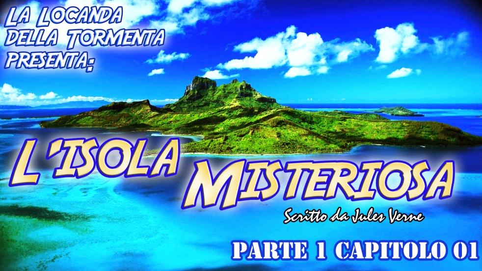 Audiolibro L'Isola Misteriosa - J. Verne - Cover Image
