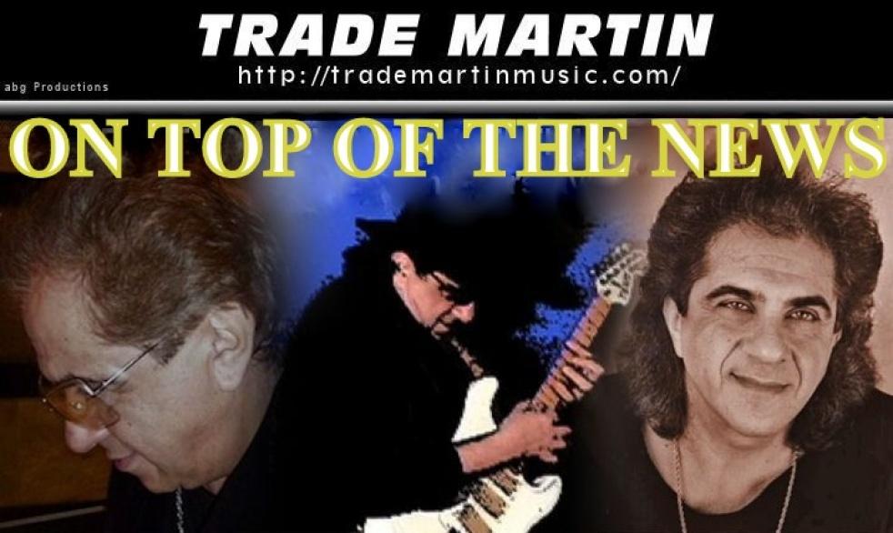 Trade Martin's tracks - imagen de show de portada