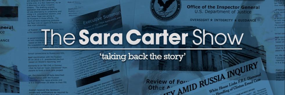 Sara Carter Show - imagen de portada