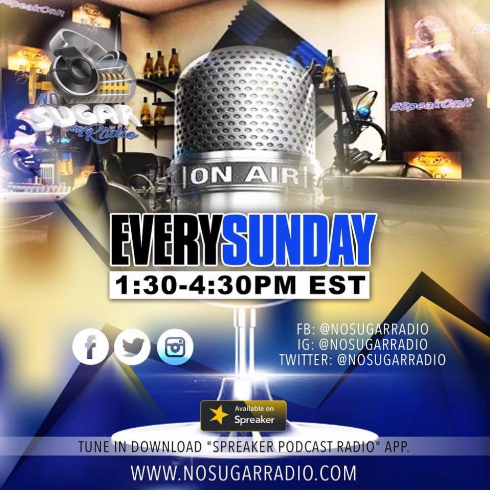 No Sugar Radio Show - show cover