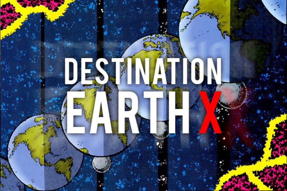 Destination Earth X - imagen de show de portada