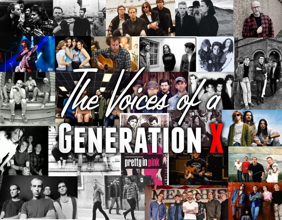 The Voices of a Generation X - imagen de show de portada