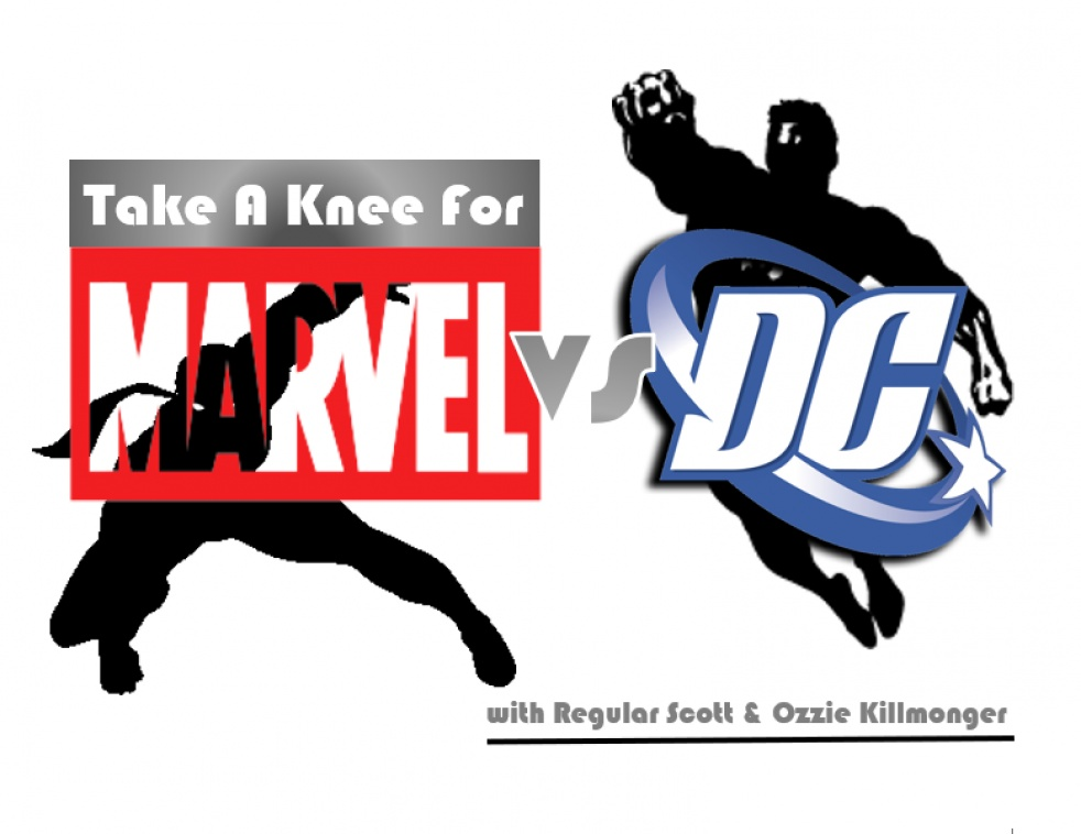 Take A Knee For Marvel Vs DC - imagen de portada