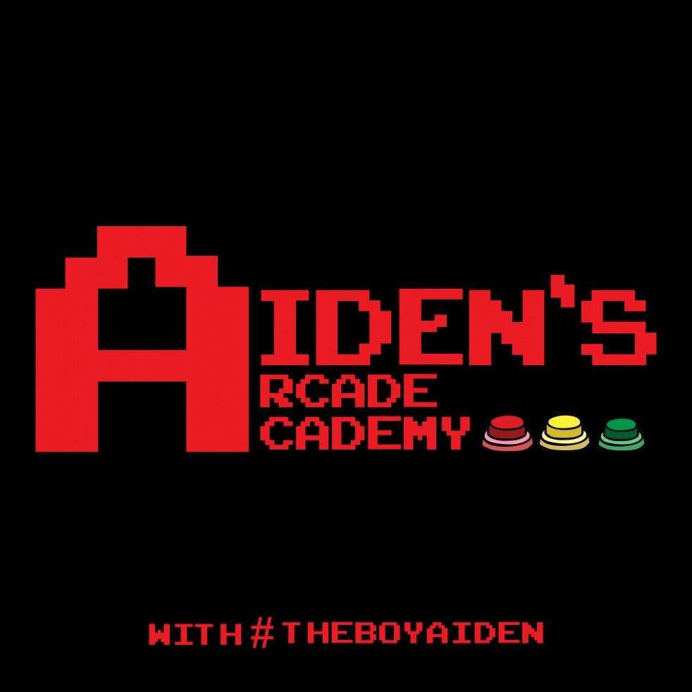 Aiden's Arcade Academy - imagen de show de portada