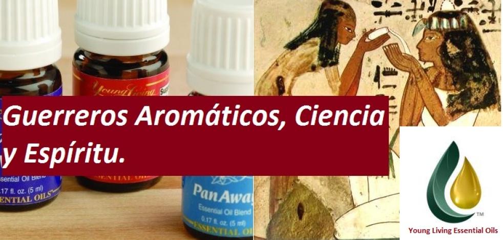 Guerreros aromaticos, Ciencia y Espiritu - show cover