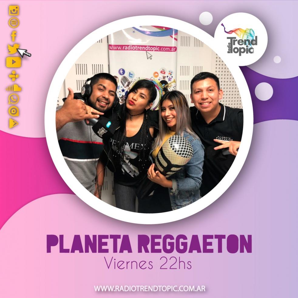 Planeta Reggaeton - imagen de show de portada