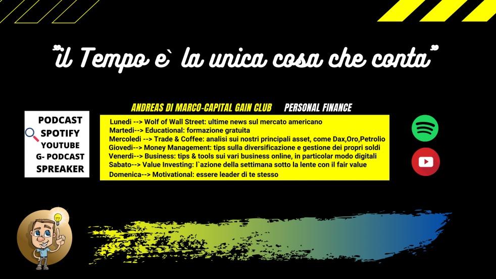 Andreas Di Marco - Capital Gain Club - immagine di copertina
