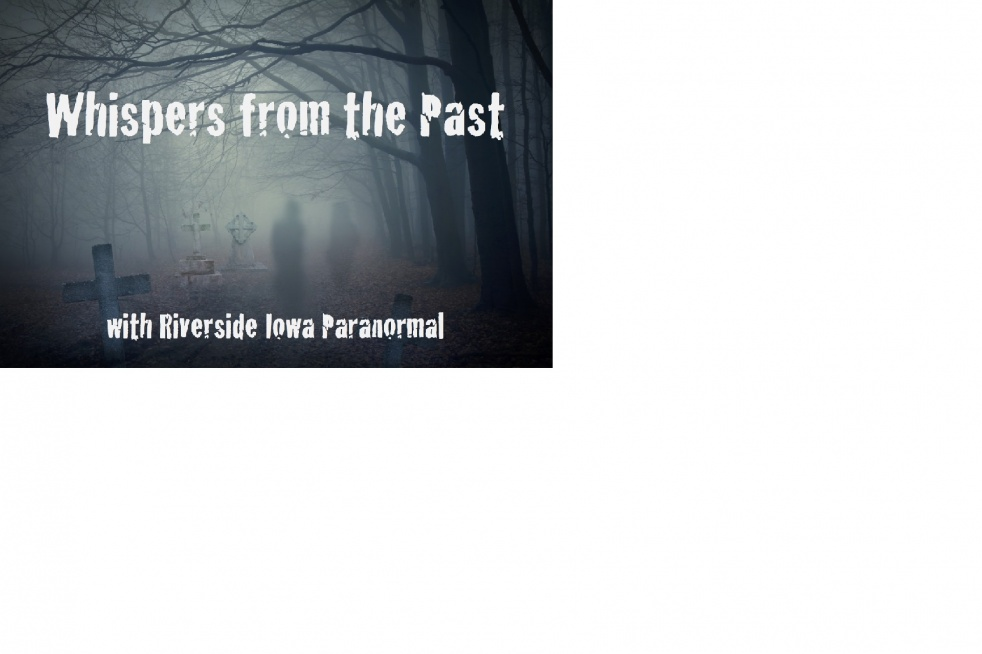 WHISPERS FROM THE PAST - show cover