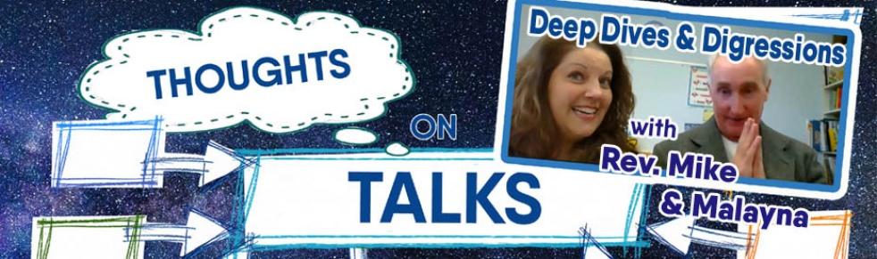 Thoughts on Talks - Rev. Mike & Malayna - immagine di copertina