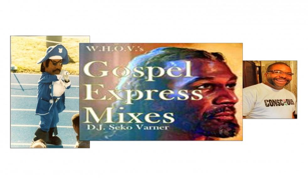 Gospel Express Mixes (2001 - 2008) - imagen de show de portada