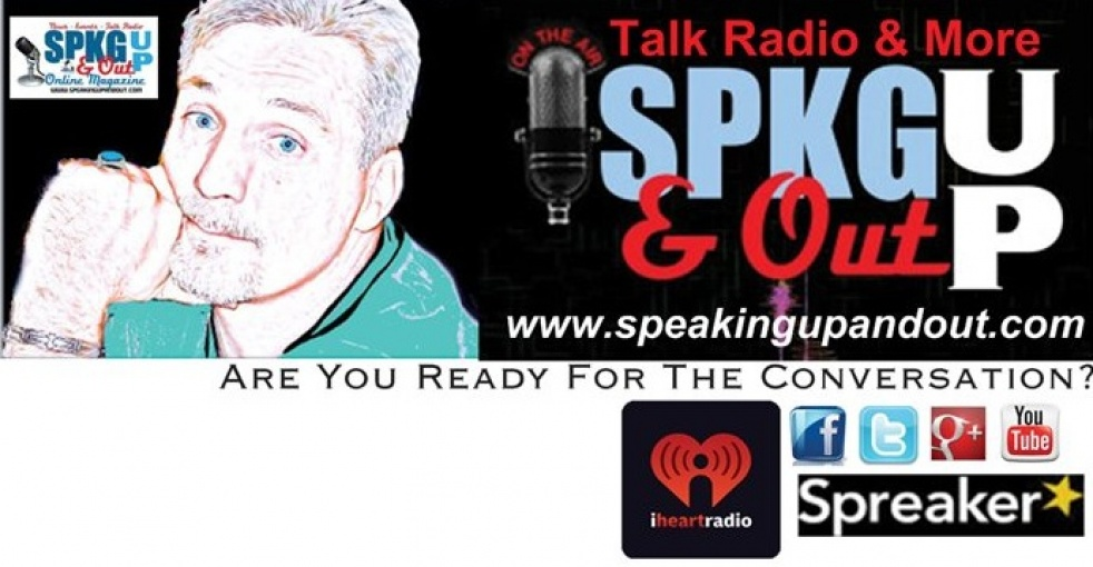 Speaking Up & Out Talk Radio - show cover
