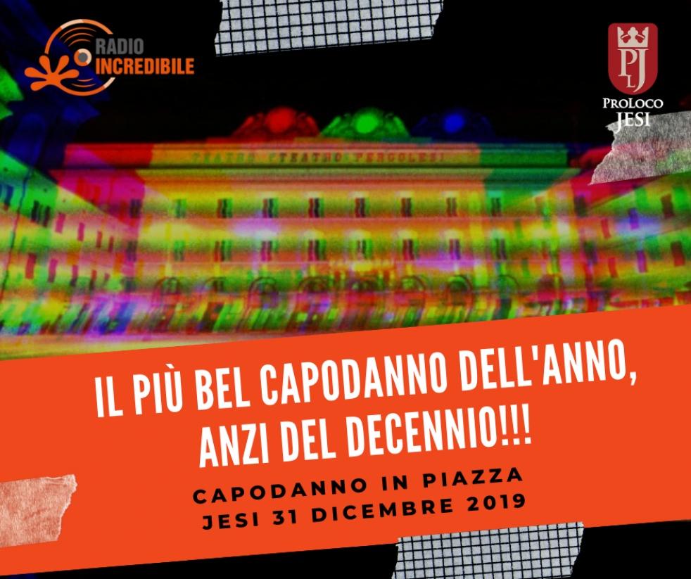 Capodanno 2020 in Piazza a Jesi - Cover Image