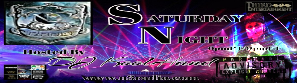 SATURDAY NIGHT WITH DJ KOOLHAND - show cover