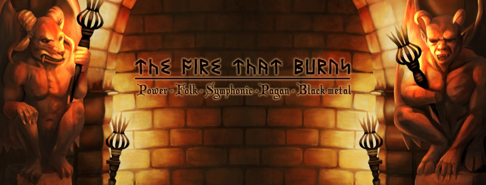 The Fire That Burns - Metal Podcast - Cover Image