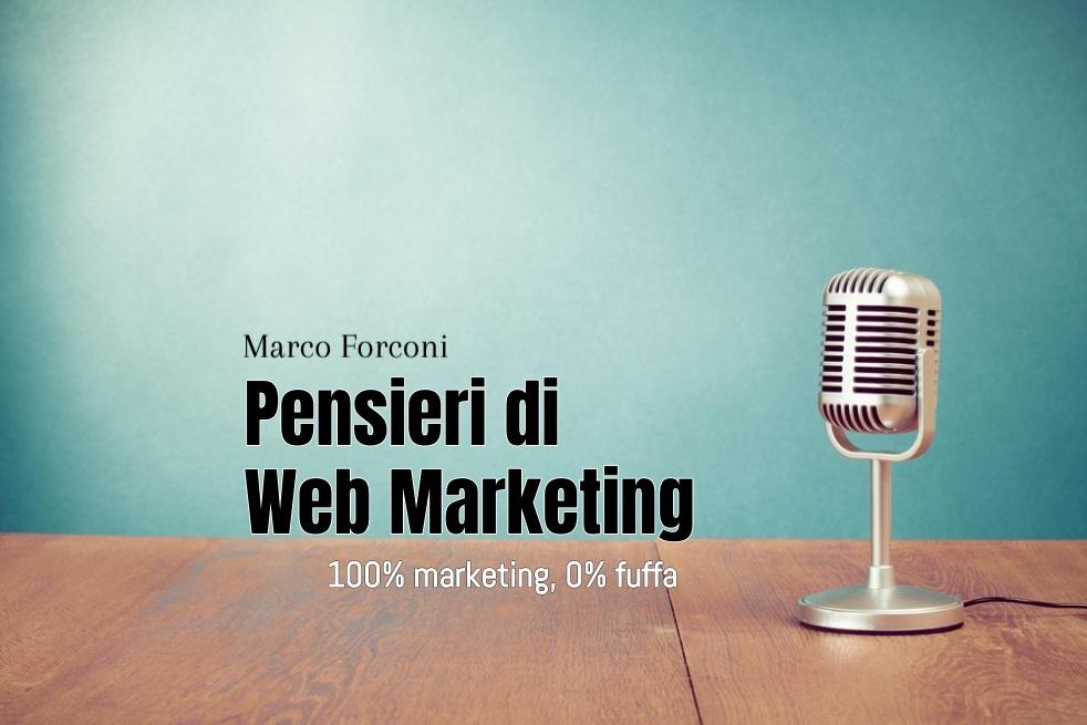 Pensieri di Web Marketing - Cover Image