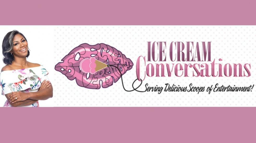 Ice Cream Convos Podcast - imagen de show de portada