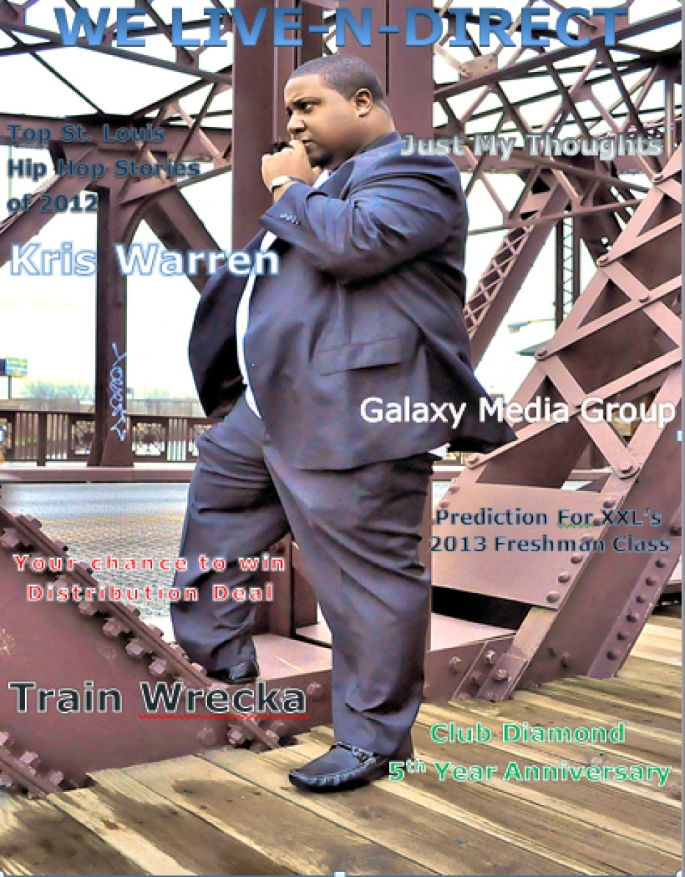 We Live N Direct Radio Show and Magazine - show cover