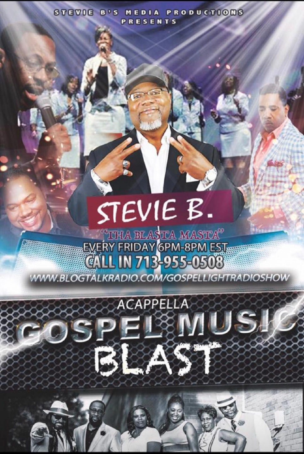 Stevie B's Media Productions - Cover Image
