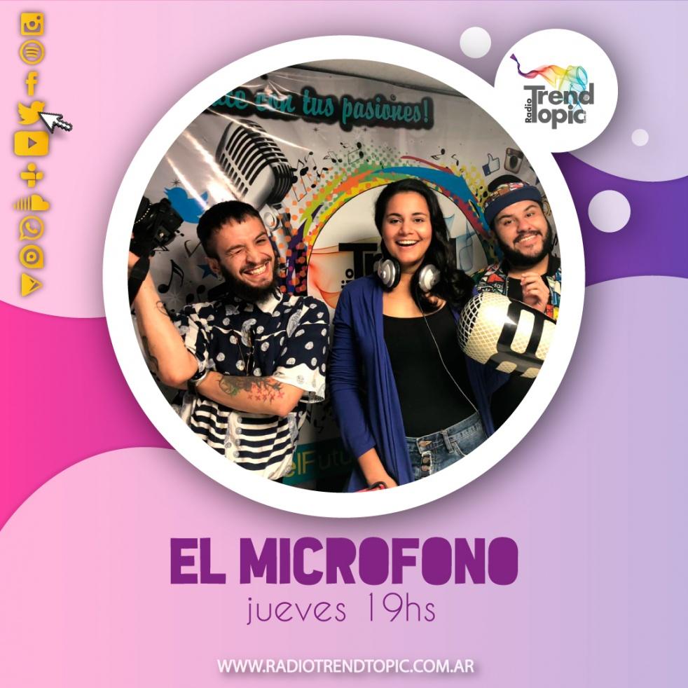 El microfono - imagen de show de portada