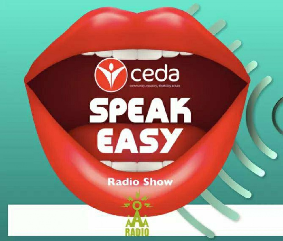 CEDA Speak easy show - show cover