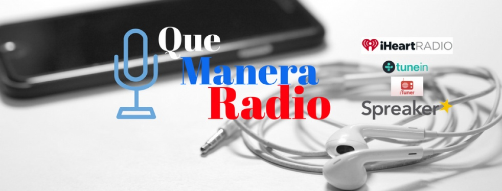 Que Manera Radio - show cover