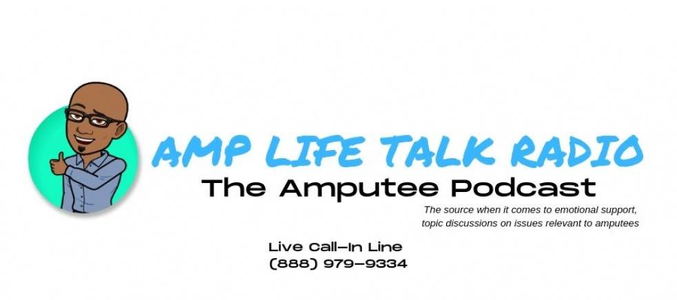 Amp Life Talk Radio - show cover