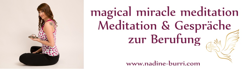 magical miracle meditation - show cover