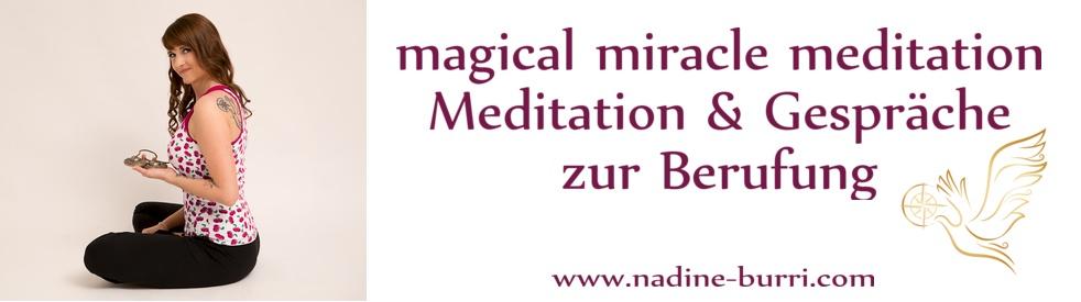 magical miracle meditation - imagen de show de portada