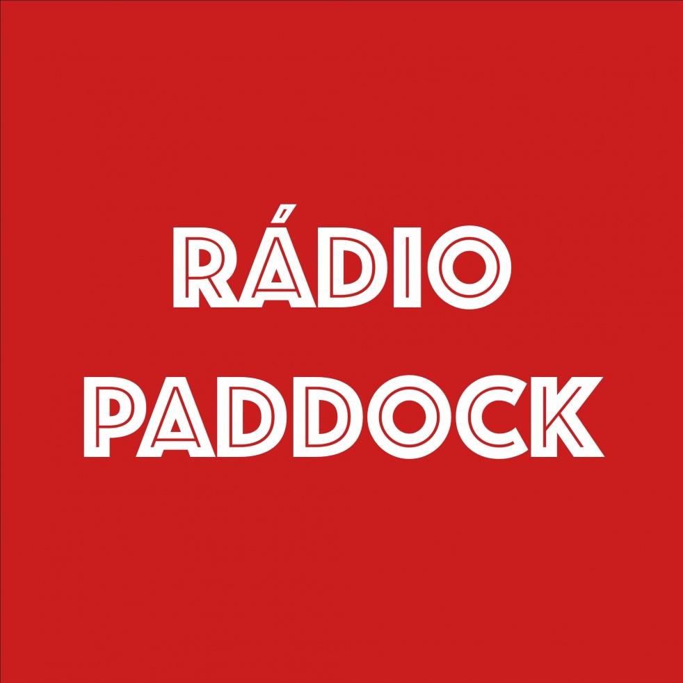 Rádio Paddock - imagen de show de portada