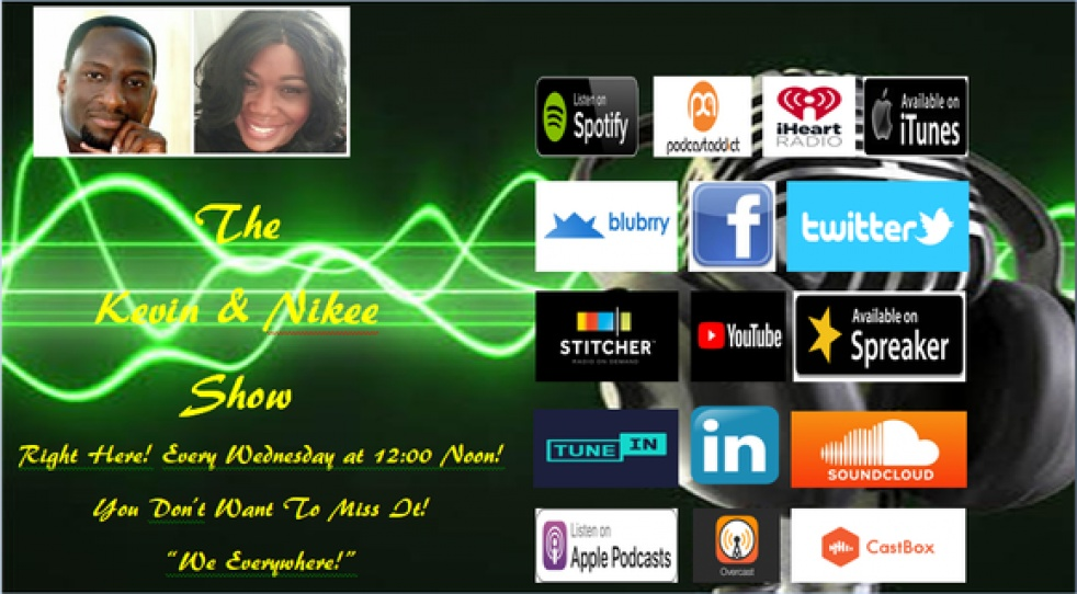 The Kevin & Nikee Show - show cover