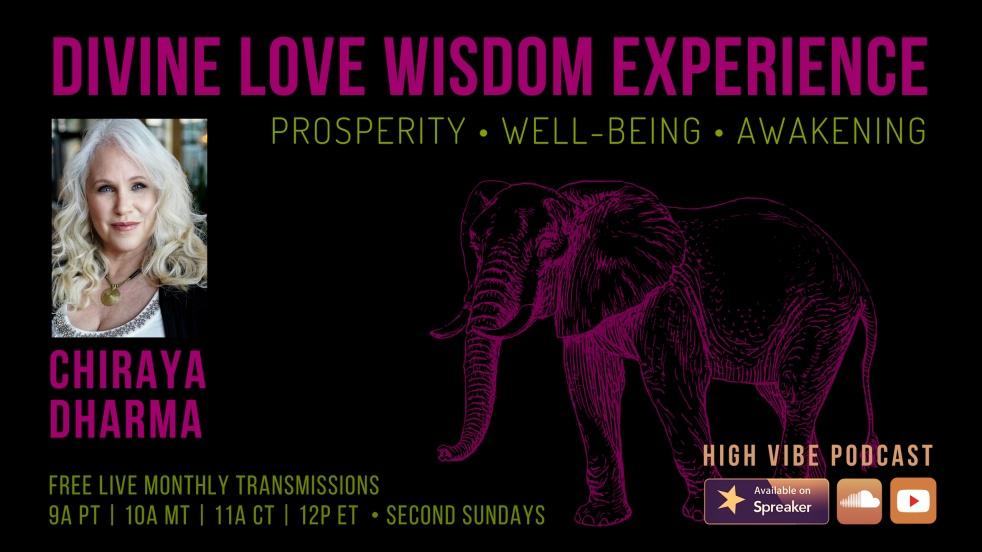 Divine Love Wisdom Experience - immagine di copertina dello show