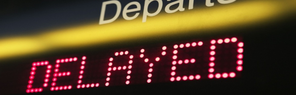 Departure Delayed - Cover Image