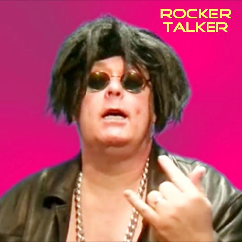 Rocker Talker - imagen de show de portada
