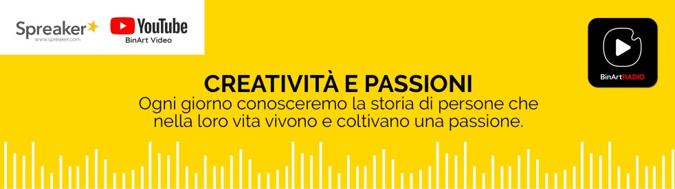BinArt Radio - Creatività e Passioni - imagen de portada