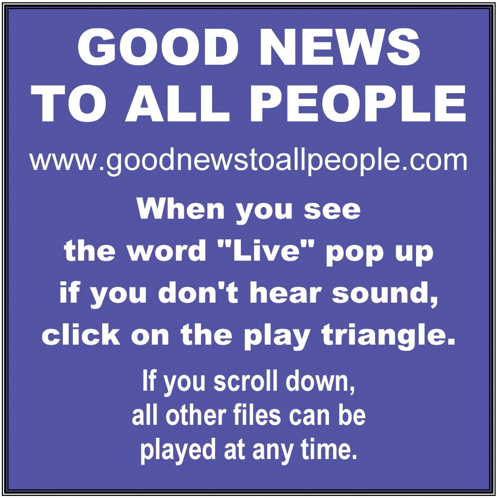 Good News to All People - Cover Image