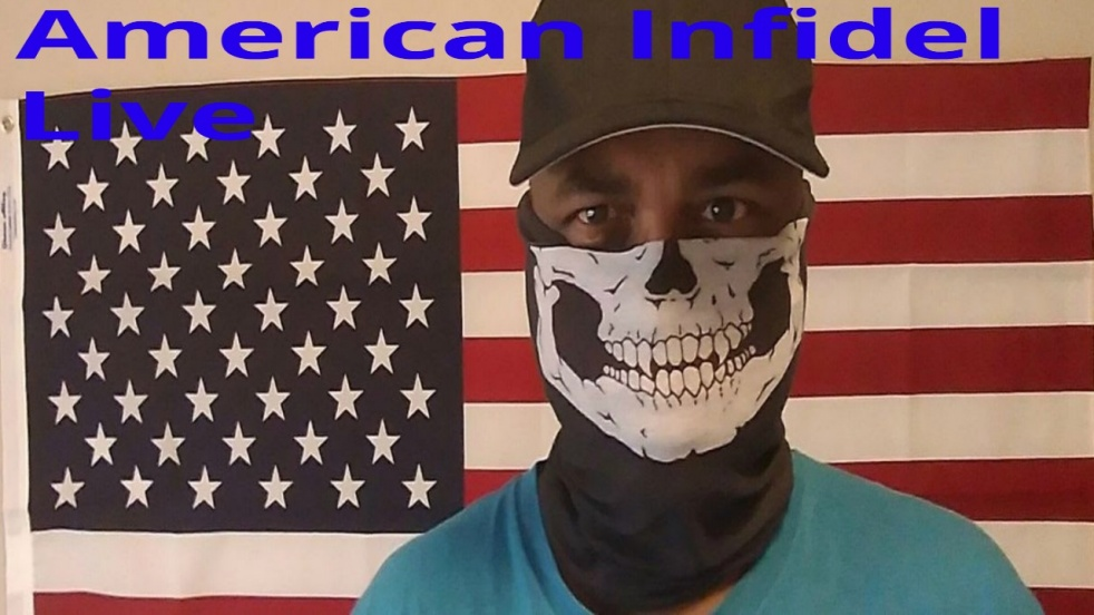 American Infidel Live - show cover