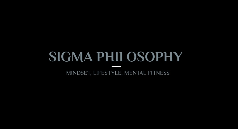 Sigma Philosophy Podcast - show cover
