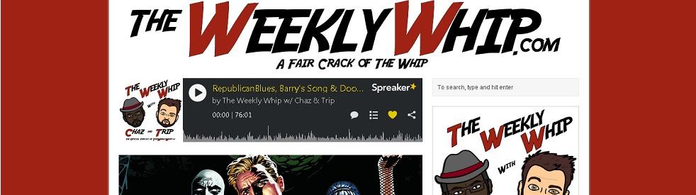 The Weekly Whip w/ Chaz & Trip - show cover