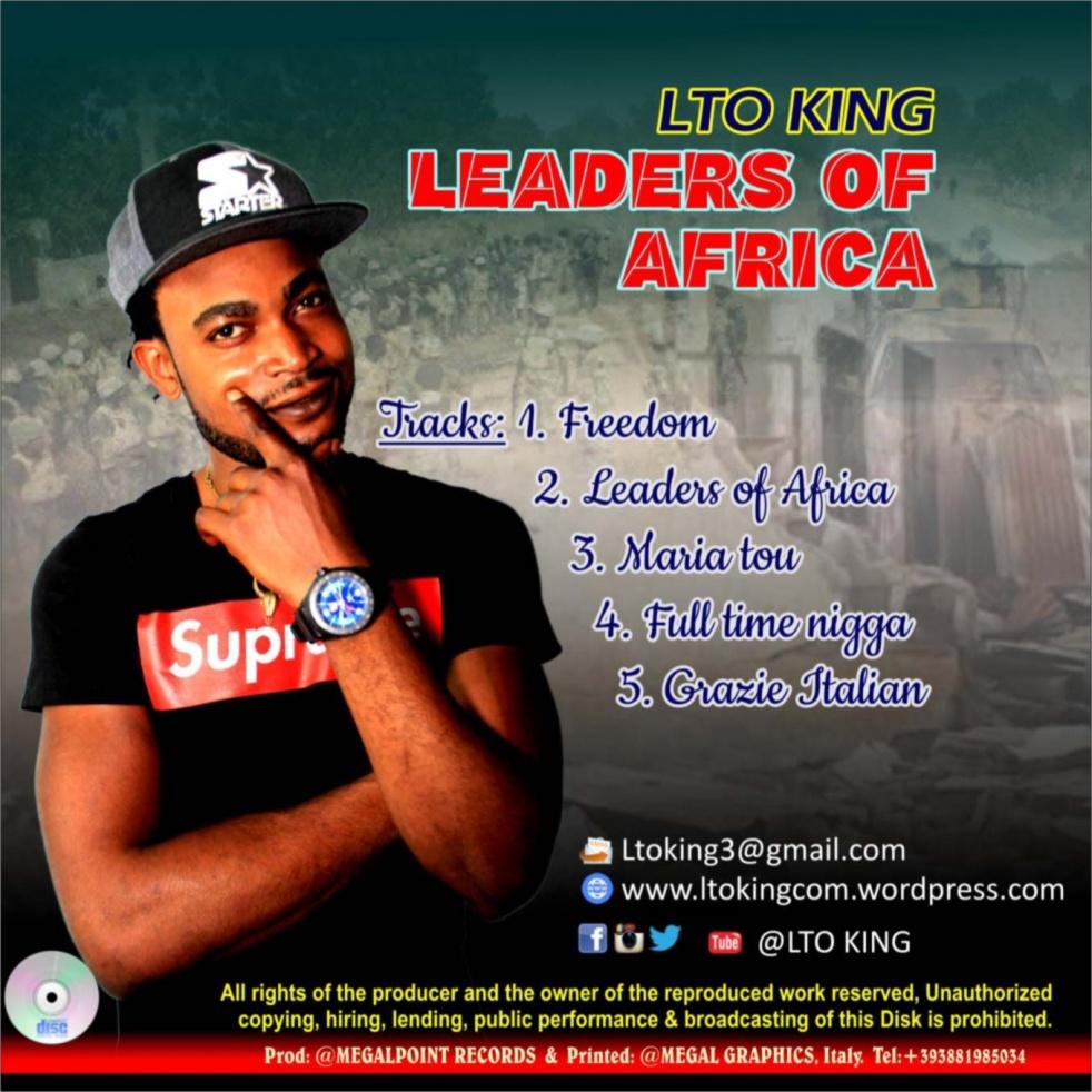 LTO KING (Leaders of Africa) - immagine di copertina dello show
